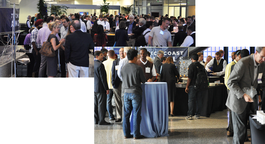 Tech Coast Angels Quick Pitch Competition Qualcomm Lobby